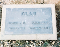 Johanna Fredericka <i>Borgman</i> Glau