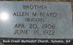Allen 'Buddy' M Beard