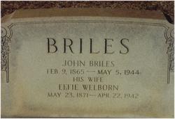 Effie <i>Welborn</i> Briles