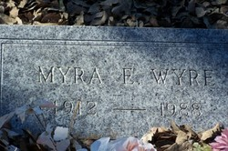 Myra E <i>Luce</i> Wyre