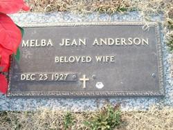 Melba Jean <i>Overman</i> Anderson