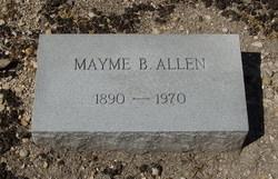 Mayme B. <i>Fowler</i> Allen
