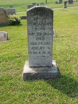 Mary C. <i>Henderson</i> Adams