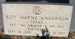 Roy Wayne Anderson