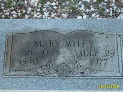 Mary <i>Wilson</i> Wiley