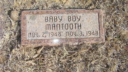 Baby boy Mantooth