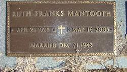 Ruth Muralyne <i>Franks</i> Mantooth
