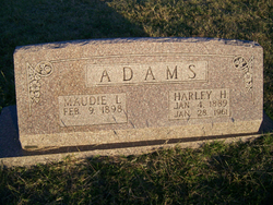 Maudie Lee <i>Gatlin</i> Adams