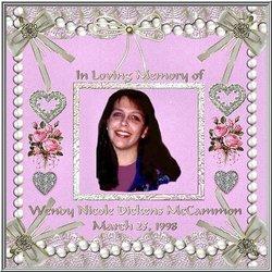 Wendy Nicole Angel <i>Dickens</i> McCammon