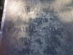 Lula Turner <i>Rives</i> Allen