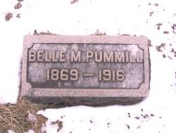 Isabelle Margaret Belle <i>Webb</i> Pummill
