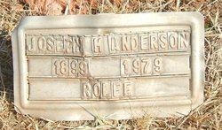 Joseph M Anderson