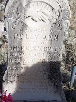 Polly Ann <i>Lane</i> Greer
