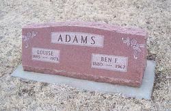 Louise E. <i>Wuestenfeld</i> Adams
