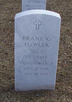 Frank G Fowler