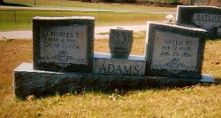 Nellie Francis <i>Ratliff</i> Adams