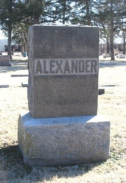 Sadie J <i>Reagan</i> Alexander