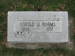 Harold W. Adams