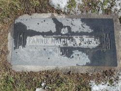 Fannie Marilla <i>Garner</i> Tracy
