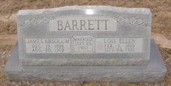 Lois Ellen <i>Adams</i> Barrett