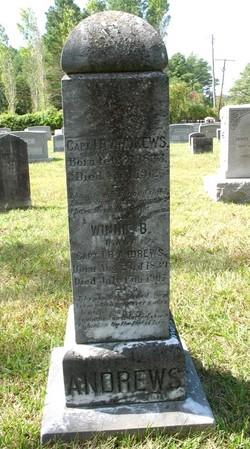 Winneford B. Winnie <i>Midgett</i> Andrews