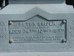 Peter Snider