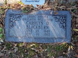 Carolyn D. Blackburn
