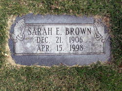 Sarah E. <i>Marshall</i> Brown