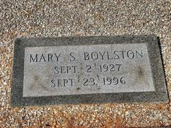 Mary <i>Shelton</i> Boylston