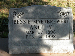 Bessie Mae <i>Norman</i> Angley