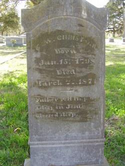 Elijah Willis Christian, Jr