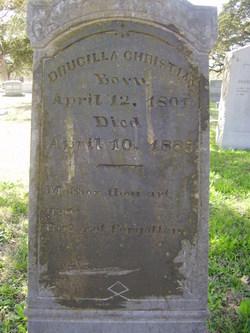 Drucilla <i>Willeford</i> Christian