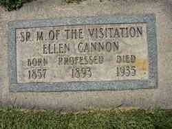 Sr M of the Visitation (Ellen) Cannon