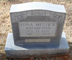 Edna <i>Messick</i> Thompson