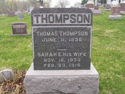 Sarah Ellen <i>Hufford</i> Thompson