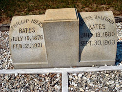 Lottie <i>Halford</i> Bates