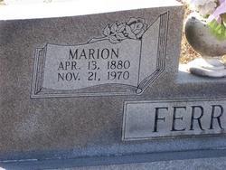 Marion Ferrell