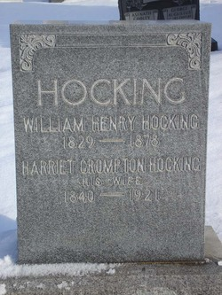 Harriet <i>Crompton</i> Hocking