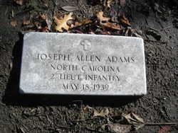 Joseph Allen Adams
