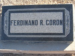 Ferdinand R Coron