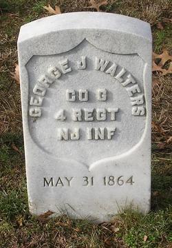 Pvt George J. Walters