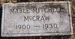 Mable <i>Mitchell</i> McCraw
