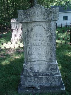 Mary J. <i>Burritt</i> Smith