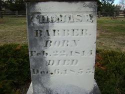 Thomas W Barber