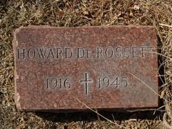 Howard V. DeRossett