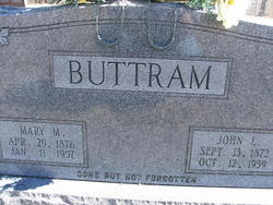 Mary Melissa <i>Alford</i> Buttram