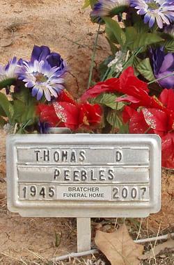Thomas Don Peebles