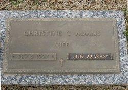 Christine <i>Caffey</i> Adams