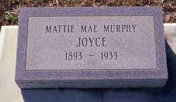 Mattie Mae <i>Joyce</i> Murphy