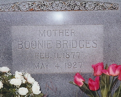 Boonie <i>Coffey</i> Bridges